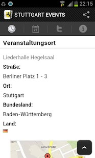 STUTTGART EVENTS - Eventguide- screenshot thumbnail