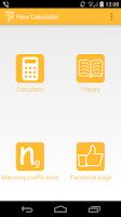 Screenshot of Flow Calculator