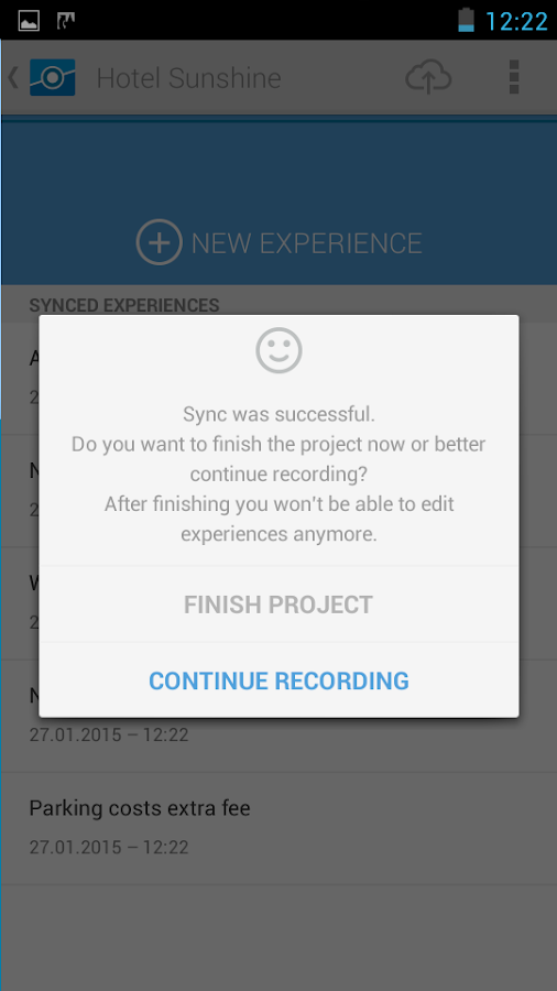 ExperienceFellow- screenshot