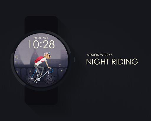 Night Riding watchface by Atmo
