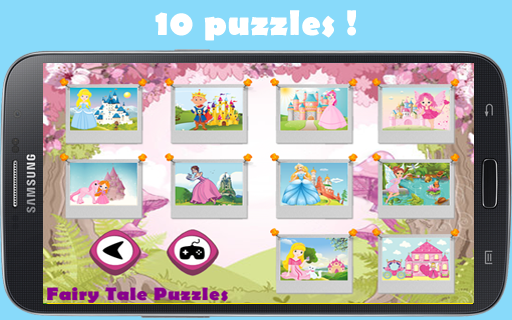 女の子のためのプリンセスパズル
