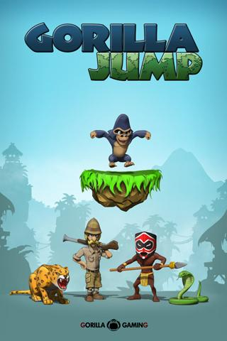 Gorilla Jump FREE - screenshot