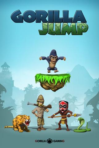 Gorilla Jump FREE - screenshot
