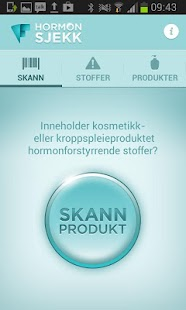 Forbrukerrådet Hormonsjekk- screenshot thumbnail