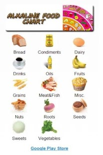 Alkaline Food Chart