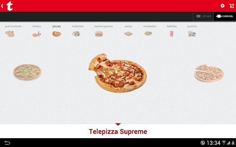 Telepizza screenshot 5