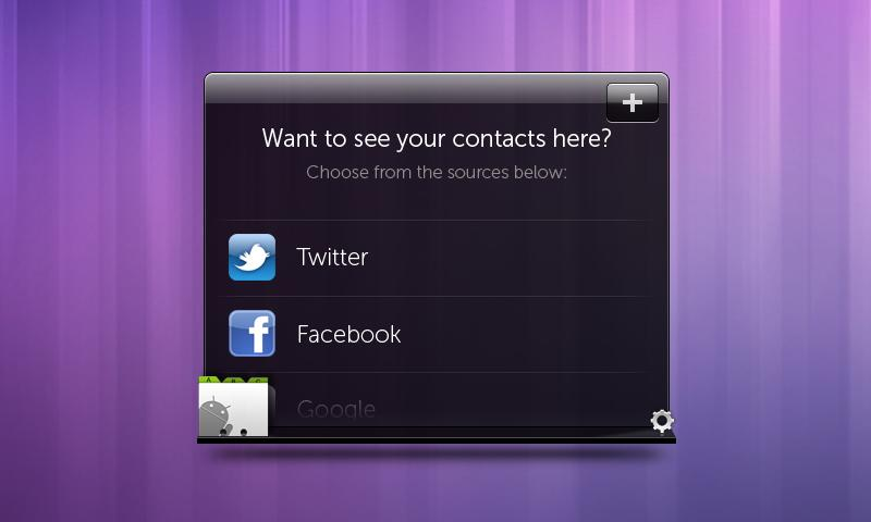 #1. Dell Stage Contacts Widget (Android)