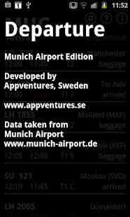 Departure MUC - screenshot thumbnail