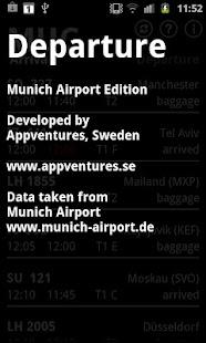 Departure MUC- screenshot thumbnail