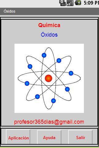 Química. Formulación: Óxidos