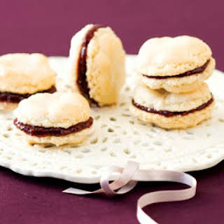 Chocolate-Filled Almond Macaroons.