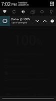 Screenshot of Darker (Screen Filter)