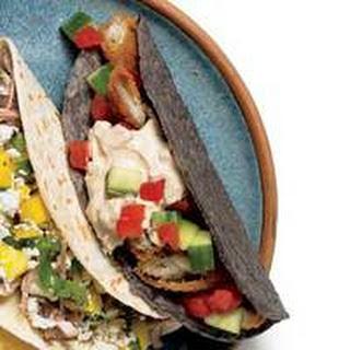 Crunchy-Creamy Fish Tacos