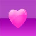 Purple Hearts Keyboard Skin