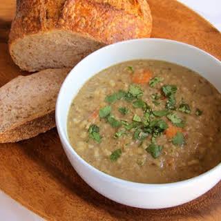 Jacob's Lentil Stew.