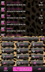Complete Cheetah Pink Theme screenshot 4