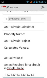 AMP Circuit Calculator screenshot 4