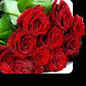 rose sfondo dal vivo icon