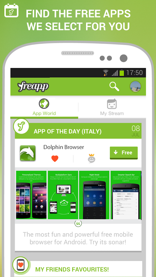 Freapp - Free Apps Daily! - screenshot