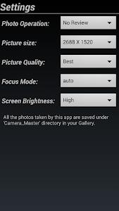Camera Master Pro v1.0