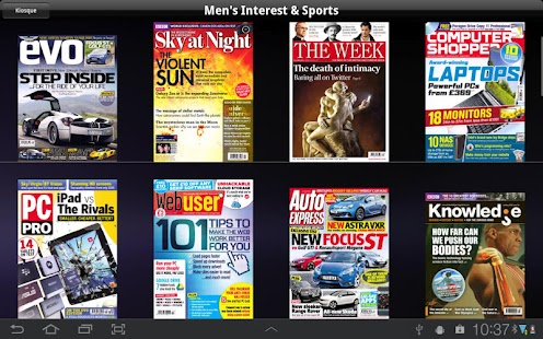 lekiosk: newsstand magazines - screenshot thumbnail