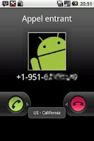 Screenshot of Caller Locator