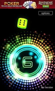 Neon Dice 3D Lite- screenshot thumbnail