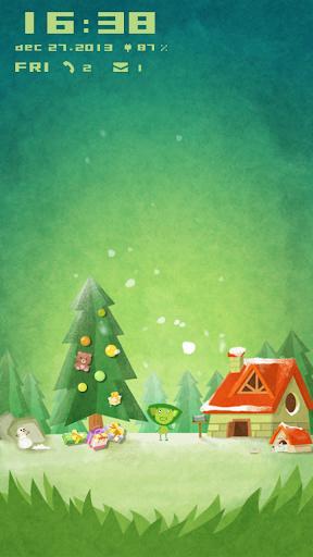 Christmas Winter Day Locker