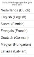 Screenshot of Learn German with Fabulo