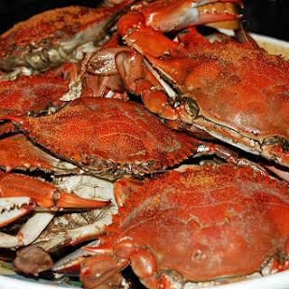 Favorite Festival Steamed Crabs.