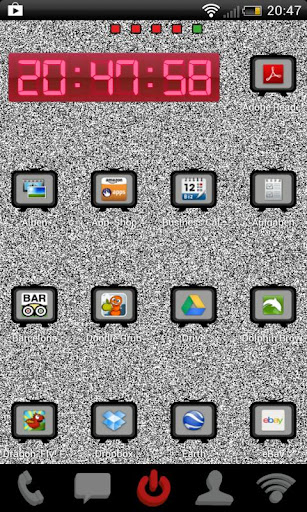 Go Launcher TV Theme
