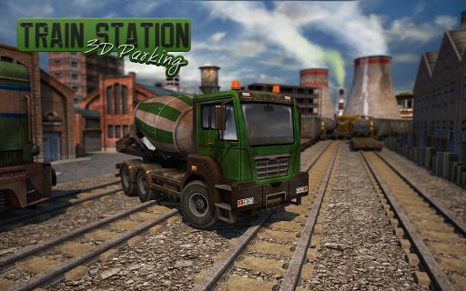 Train Station 3D Parking