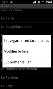 Journaux Français- screenshot thumbnail