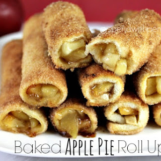 Baked Apple Pie Roll Ups.