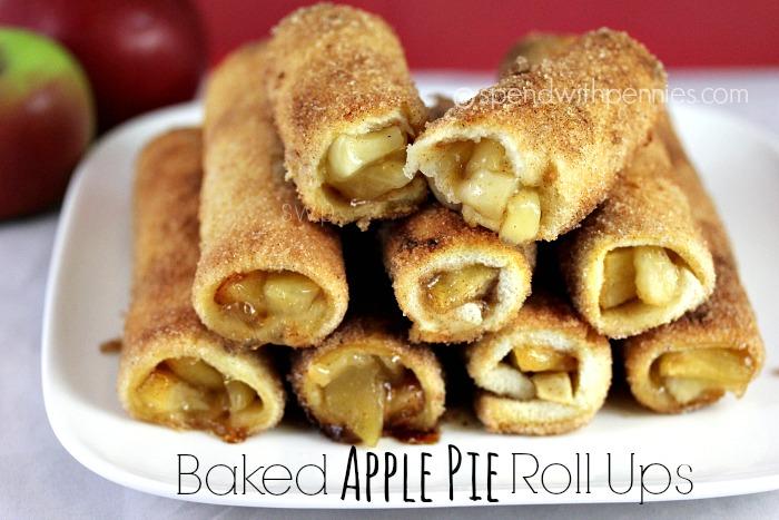 Baked Apple Pie Roll Ups Recipe