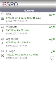 ESPO AdFree - Route Planner screenshot 2