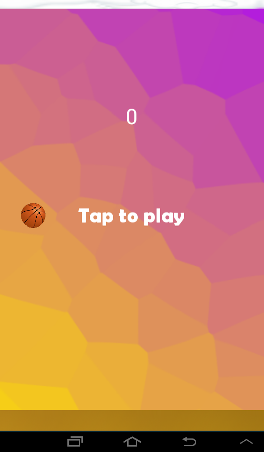 Tappy ball- screenshot