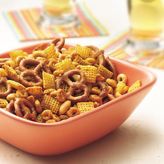 Cheerios Nuts and Bolts Snack Mix.
