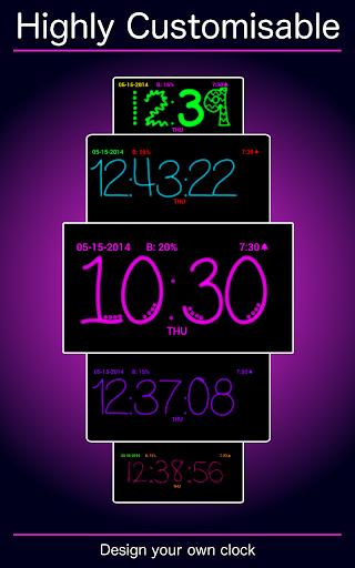 핑크 시계