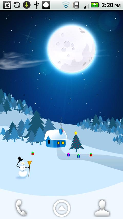 Christmas Eve Live Wallpaper- screenshot