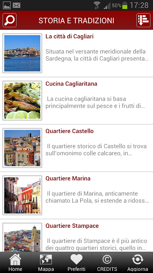 Cagliari Guide- screenshot