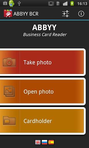 ABBYY Business Card Reader v2 0 6 14 paid apk