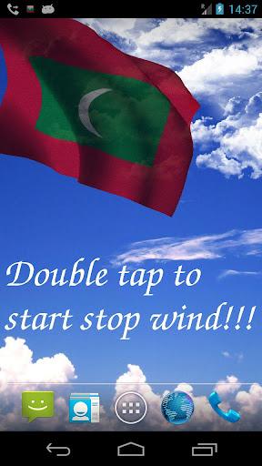 3D Maldives Flag LWP