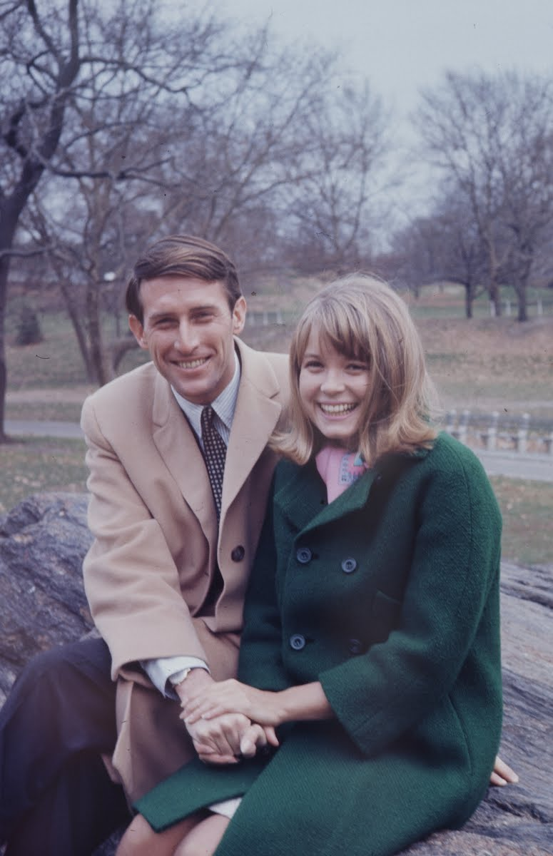 Jay Rockefeller & Sharon Percy Engagement
