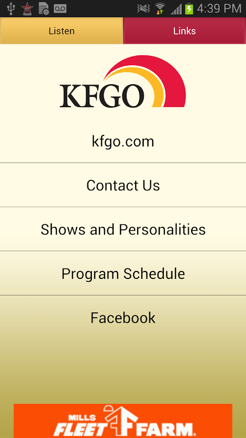 KFGO The Mighty 790 AM - screenshot