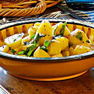 Boiled Potatoes with Parsley