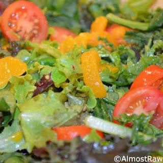 Spicy & Refreshing Avocado Tomato & Mandarin Salad