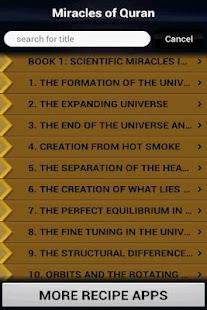 Miracles of Quran (Islam)- screenshot thumbnail
