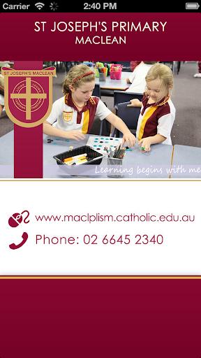 St Joseph's Primary S Maclean