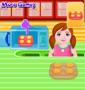 烹飪遊戲 - 杯子蛋糕